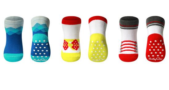 Dětské bavlněné ponožky Baby Ono 589 03 ABS 6+měsíců  bfc29e8eec