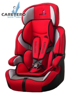 Autosedačka CARETERO Falcon New 2016 RED